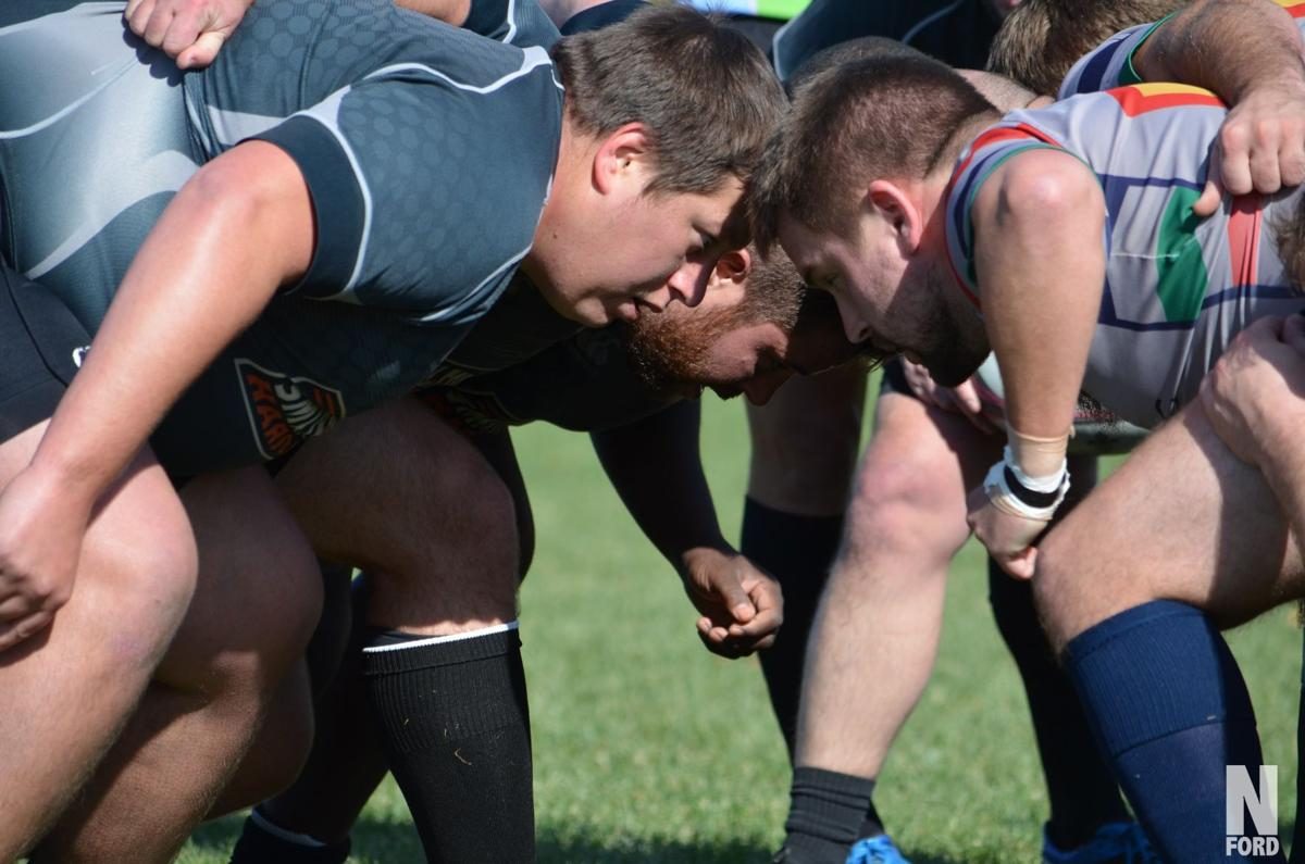 Rugby player Corey Harmann