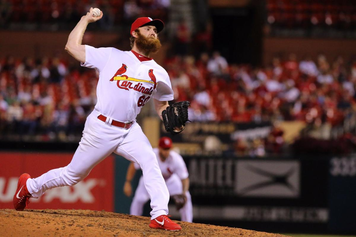 Hochman: Cards' Brebbia talks beards, 'bullpening' and Kris Bryant crying a river