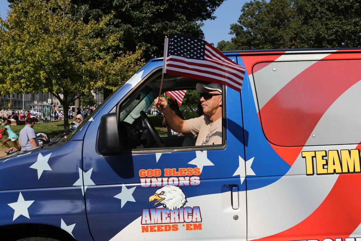 St. Louis Labor Day parade 2016