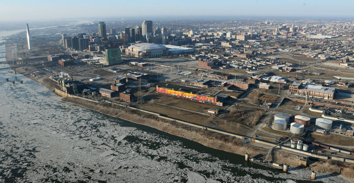 Proposed new soccer stadium site in St. Louis?