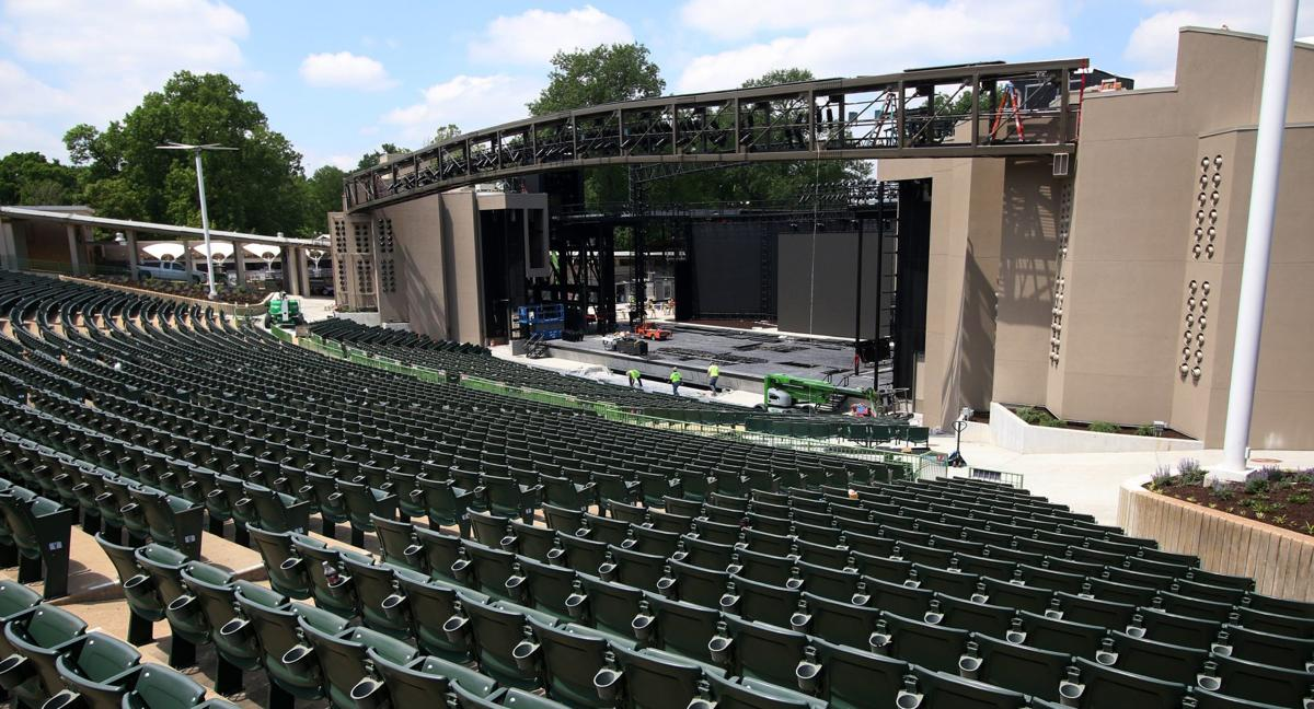 Muny stage improvements
