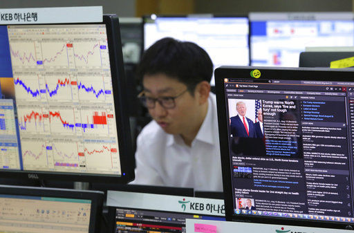 United States stocks up as N Korea fears ease