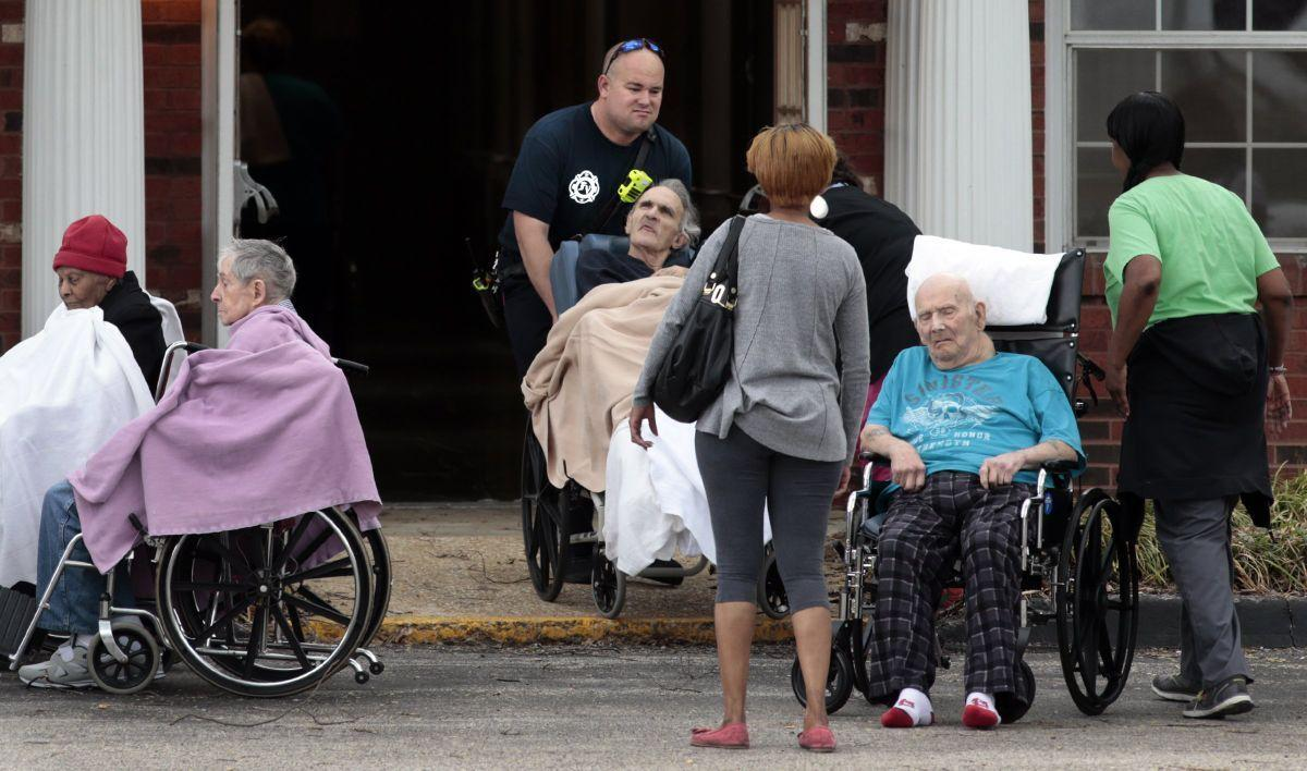 Laundry room fire evacuates Florissant nursing home