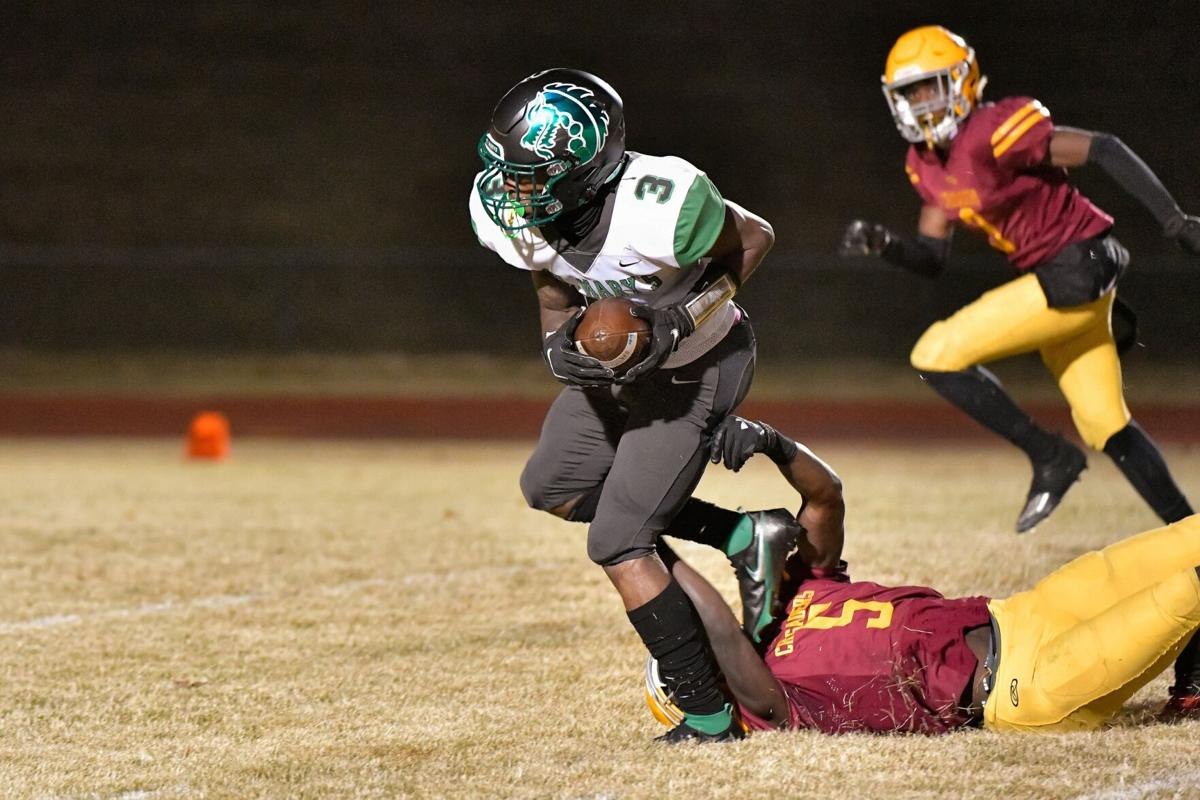 10/16/2020 - Football - St. Mary's at Lutheran North