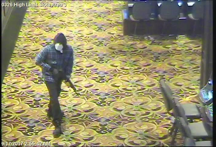 new surveillance video casino queen robbery east st louis illinois