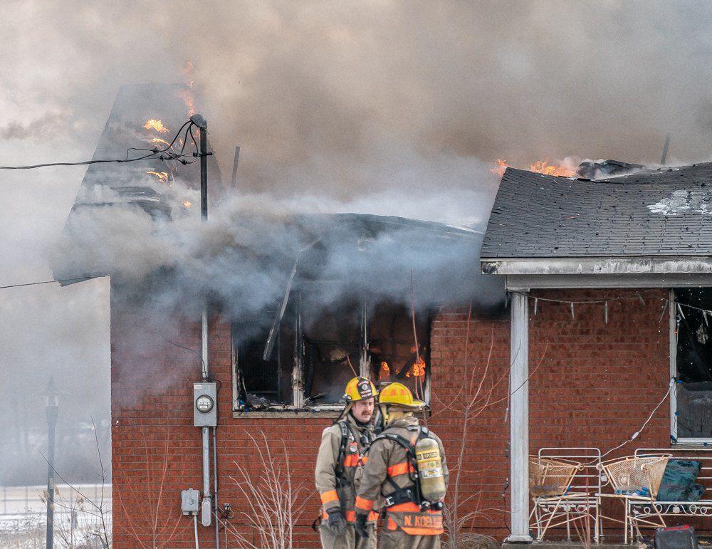Fatal house fire in Alton