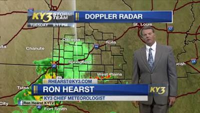 Missouri meteorologist's unusual storm mode lights up social