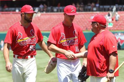 St. Louis Cardinals draft pick Dekota Hudson visits St. Louis