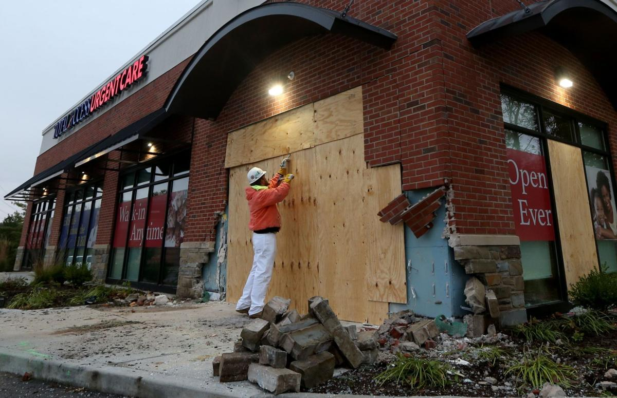Woman hit by vehicle that slammed into urgent care center in Ballwin has died