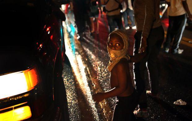 Protestors of all sizes plentiful in Ferguson