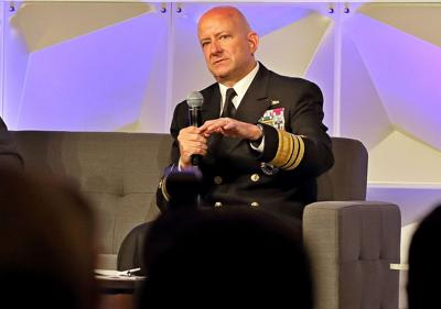 Vice Admiral Robert Sharp