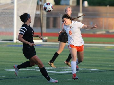 Triad vs. Waterloo girls soccer