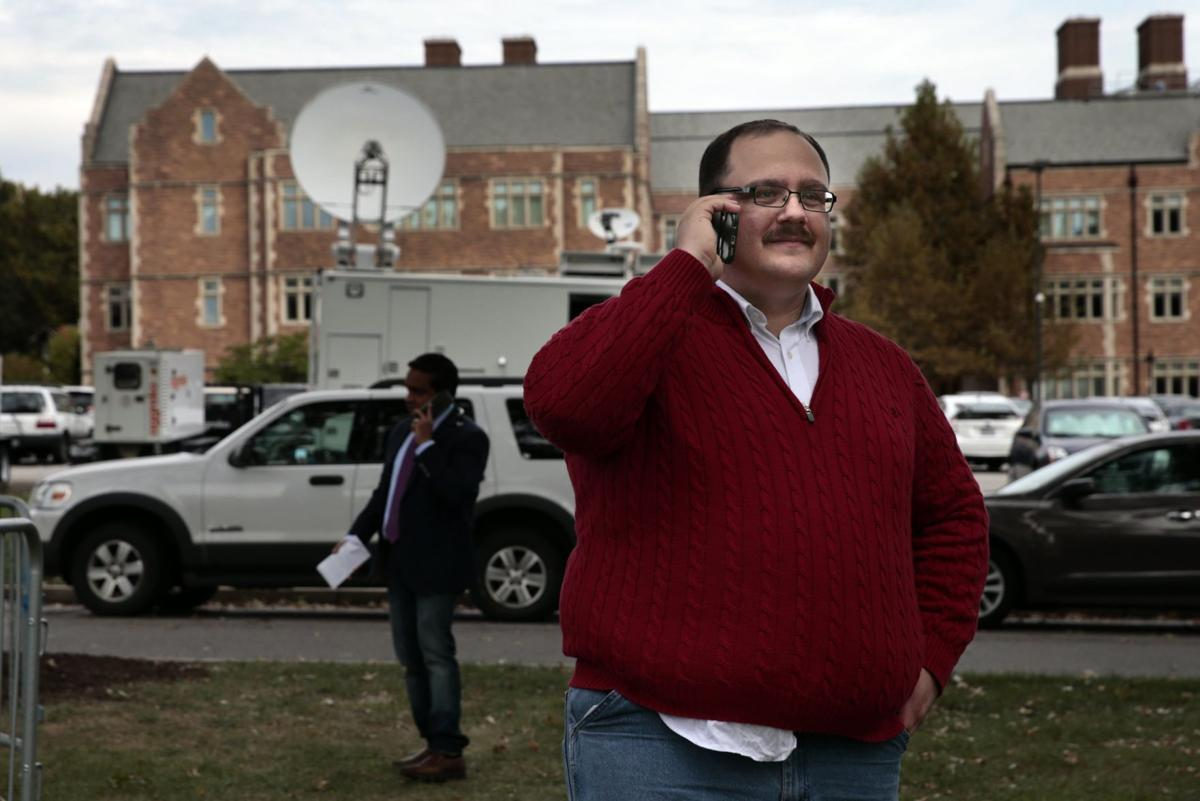 Red sweater guy Kenneth Bone is internet sensation after second ...