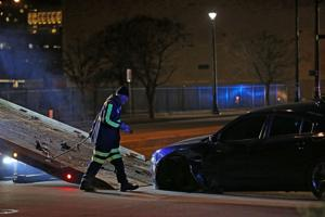 Polizei reagieren auf Dreharbeiten in der Nähe der Innenstadt