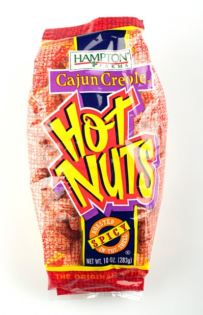 Cajun creole hot nuts