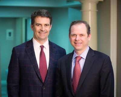 Rossiter & Boock Partners Matthew Rossiter and Jamie Boock
