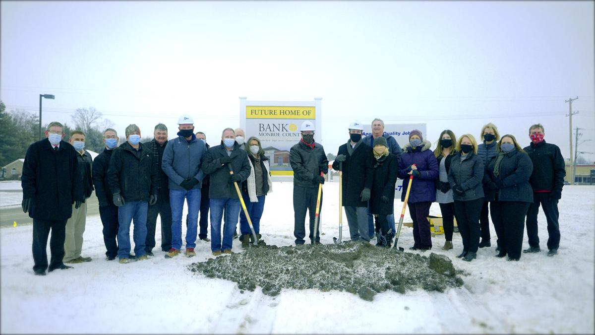 Bank of Monroe County Holds Groundbreaking Ceremony to Celebrate New Location.