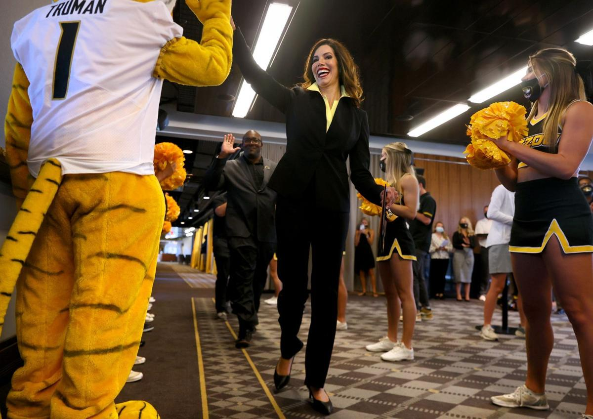 Mizzou presents Reed-Francois as 21st athletic director