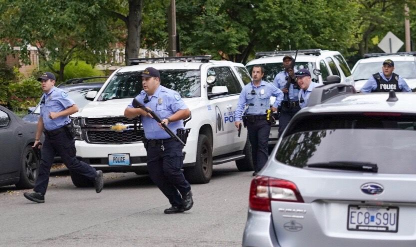 Two SLMPD officers shot