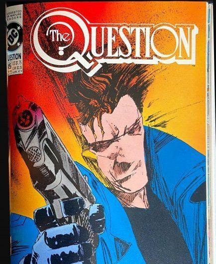 """""""The Question"""" issues from estate of Denny O'Neil"""