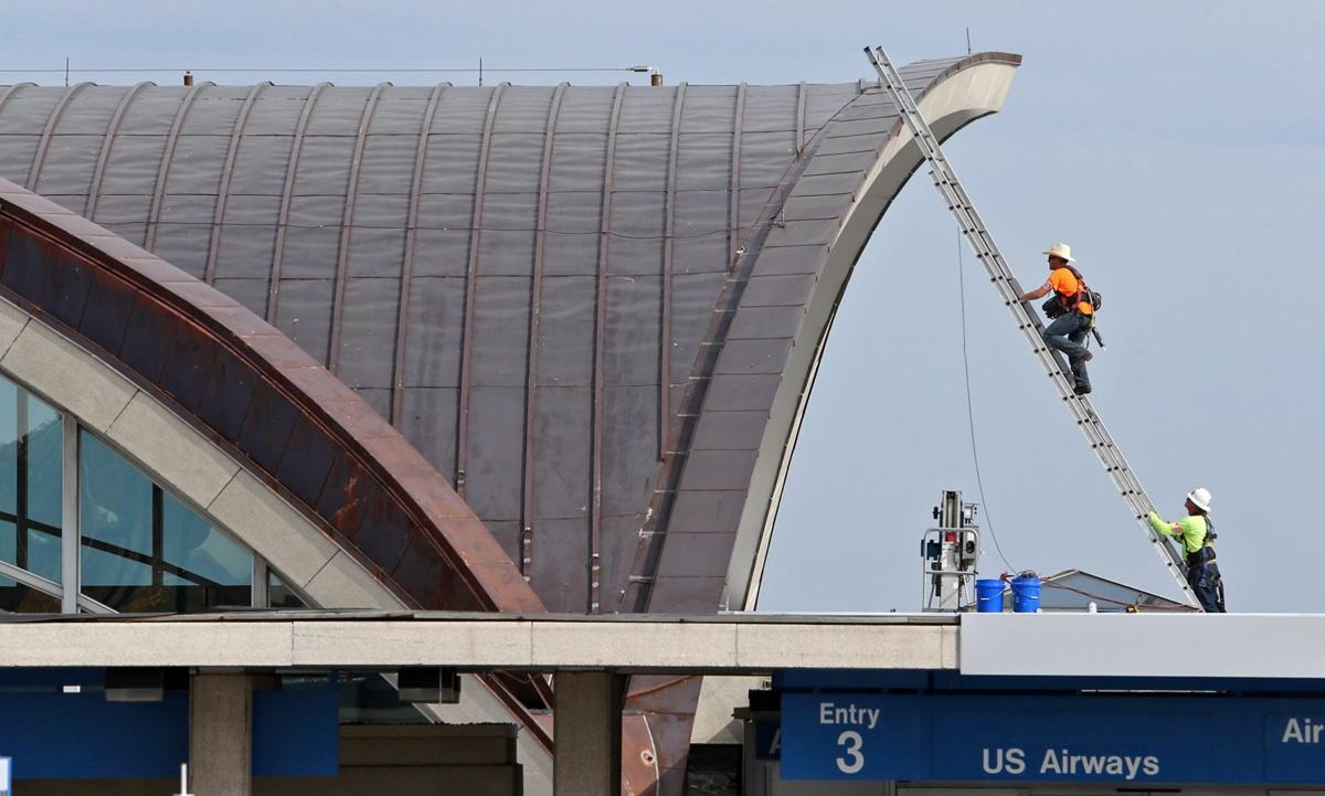 Main Lambert Terminal Gets Shiny New Roof Metro