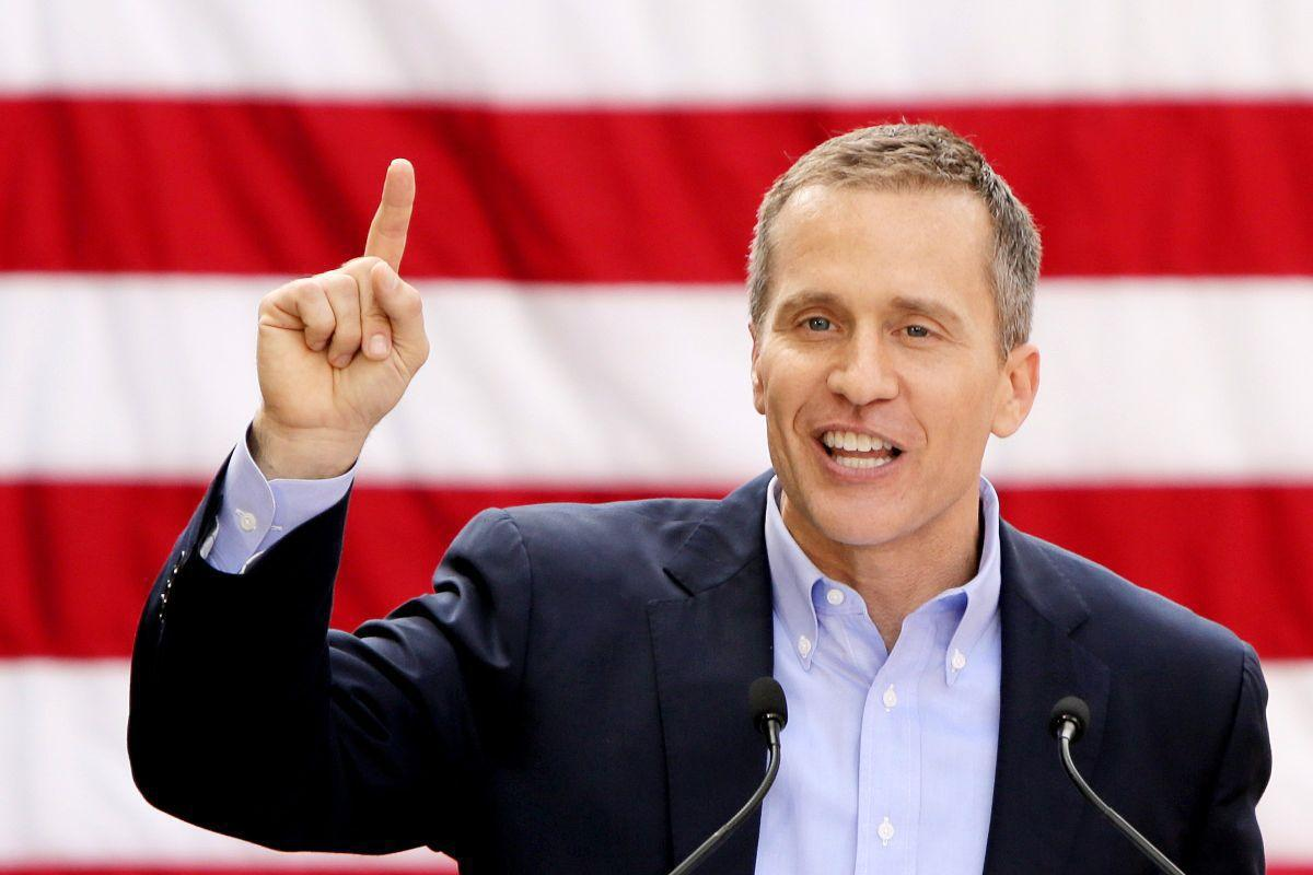 Greitens announces his candidacy in 2015