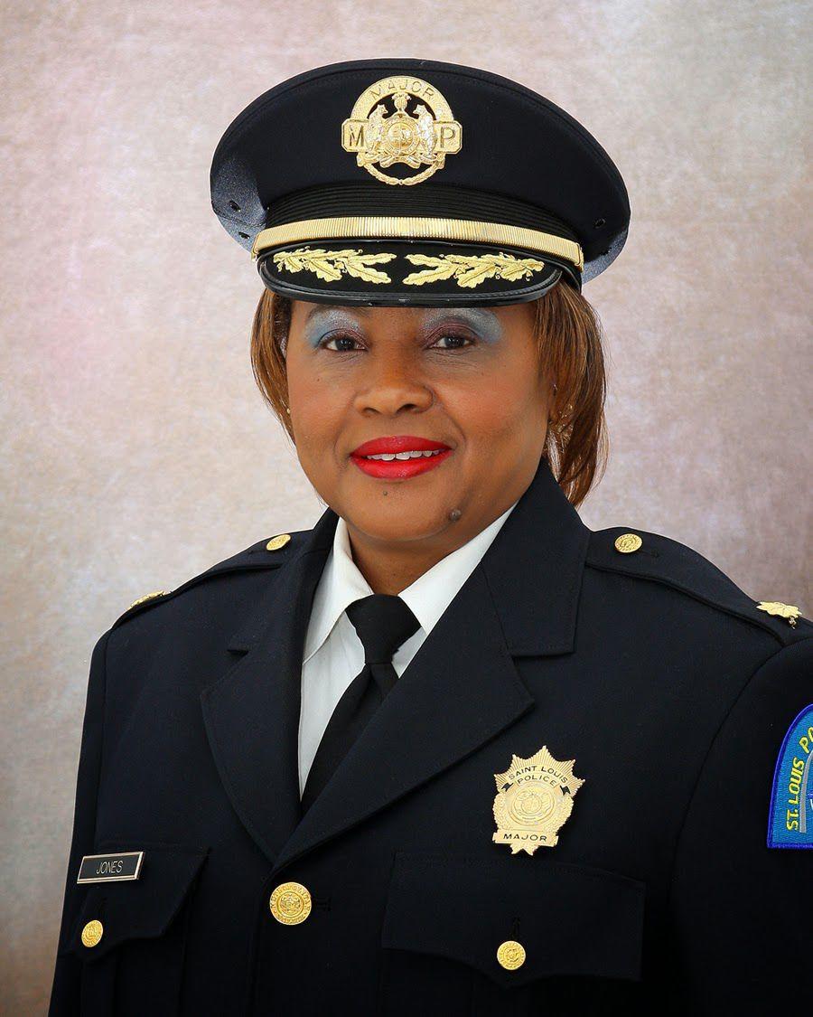 St. Louis police Maj. Rochelle Jones