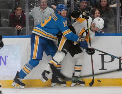 Blues take on Penguins at home
