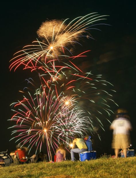 Alton Godfrey Fireworks and Concert