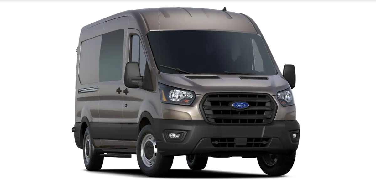 New for 2020 is the Transit Crew, a five-passenger full-size van that slots between the twopassenger Cargo version and the up-to-15 seat Passenger Van.