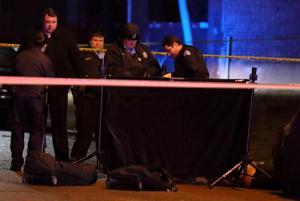Mann ist erschossen in Fountain Park)