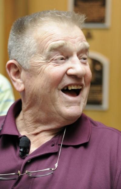 Whitey Herzog at the Hall of Fame