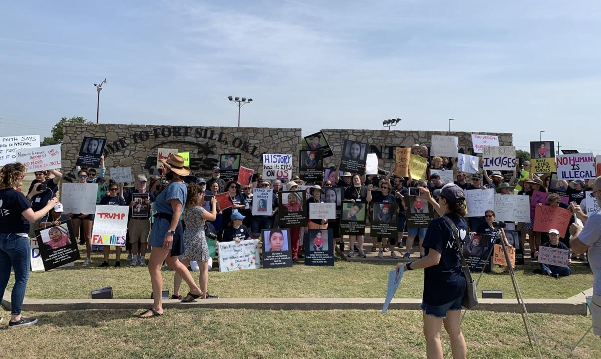 Fort Sill protest
