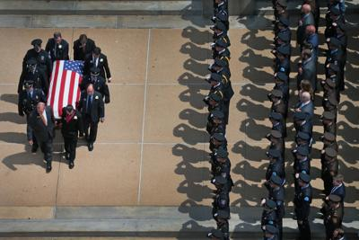 Funeral for North County Cooperative Police Officer Michael Langsdorf