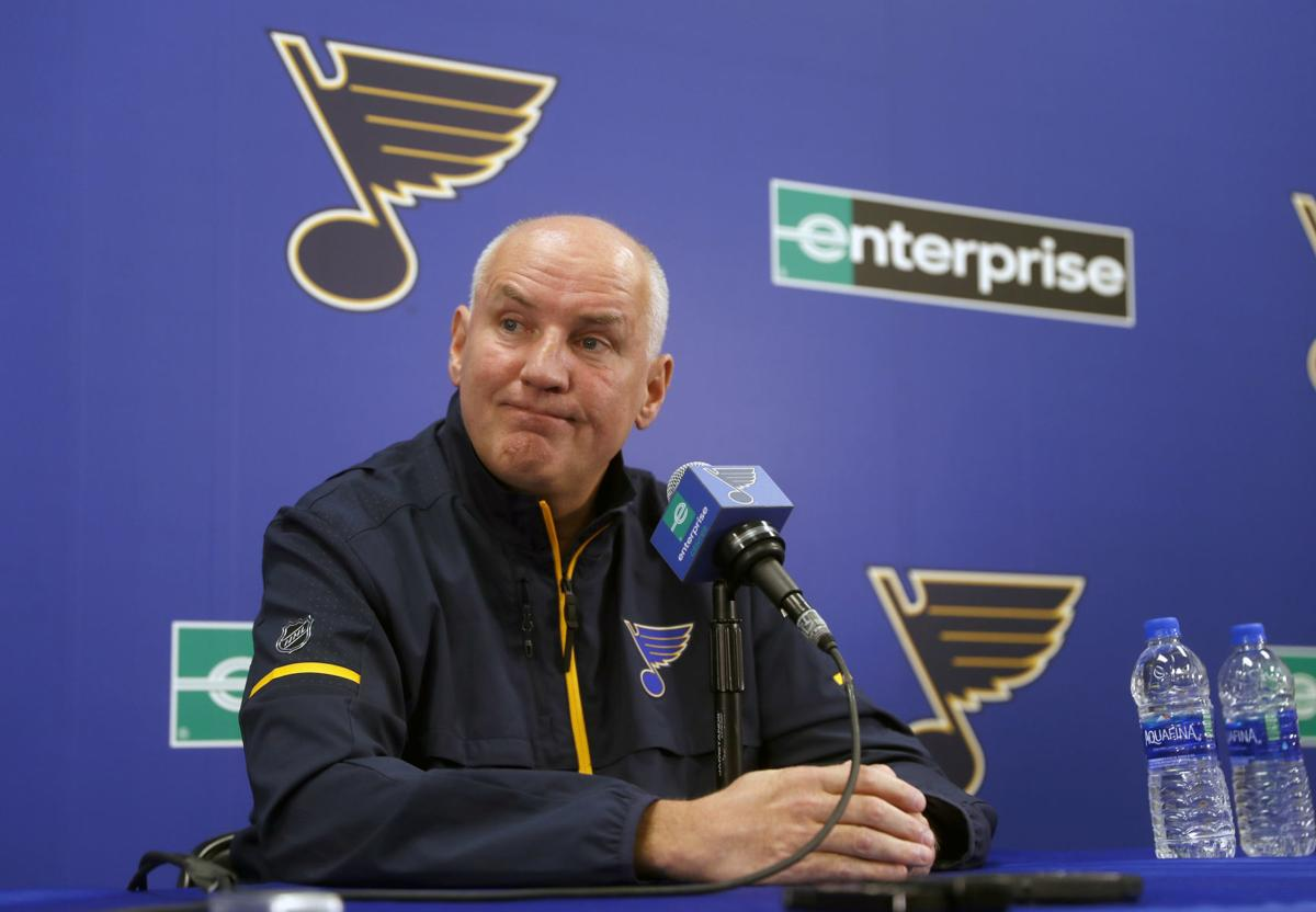 Blues Yeo Fired Hockey