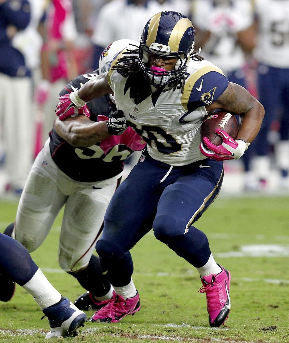 Gurley breaks loose as Rams upset Big Red NFL
