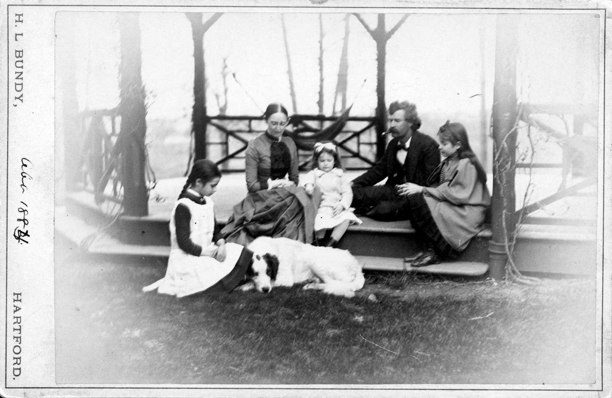 Samuel Clemens and family