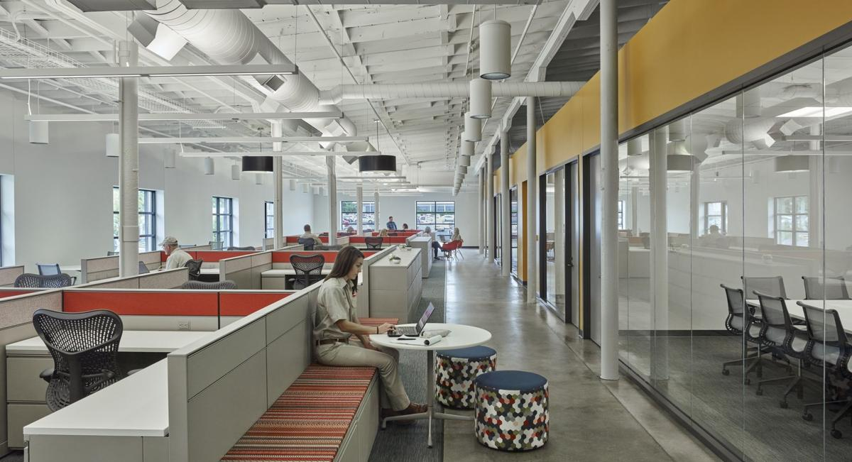 HOK turns warehouse into office space for Tyson Foods