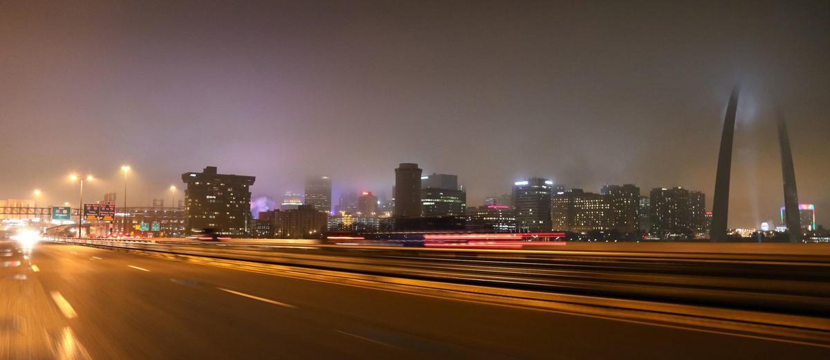 Poplar Street Bridge  in St. Louis