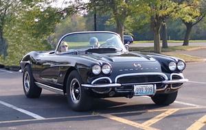 Tim Ohmeyer's '62 Corvette C-1... F.O.R.D.!.