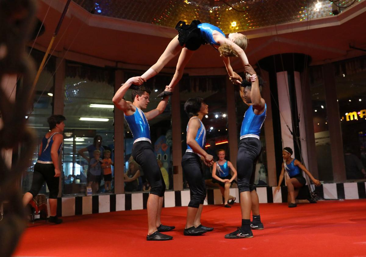 Arches acrobats to travel to Puerto Rico