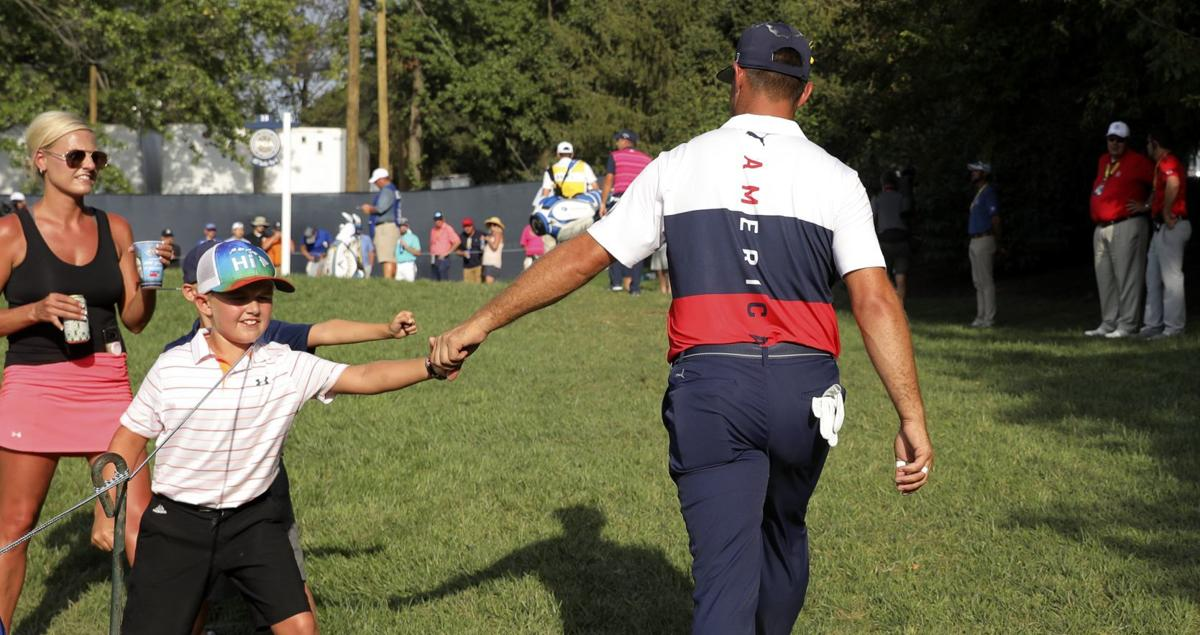 First round of the 100th PGA Championship