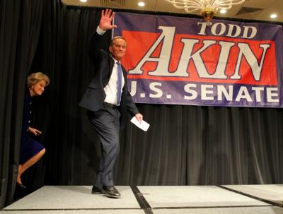 Akin election party