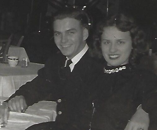 Bill and Mary Lou Laskowitz, 1945