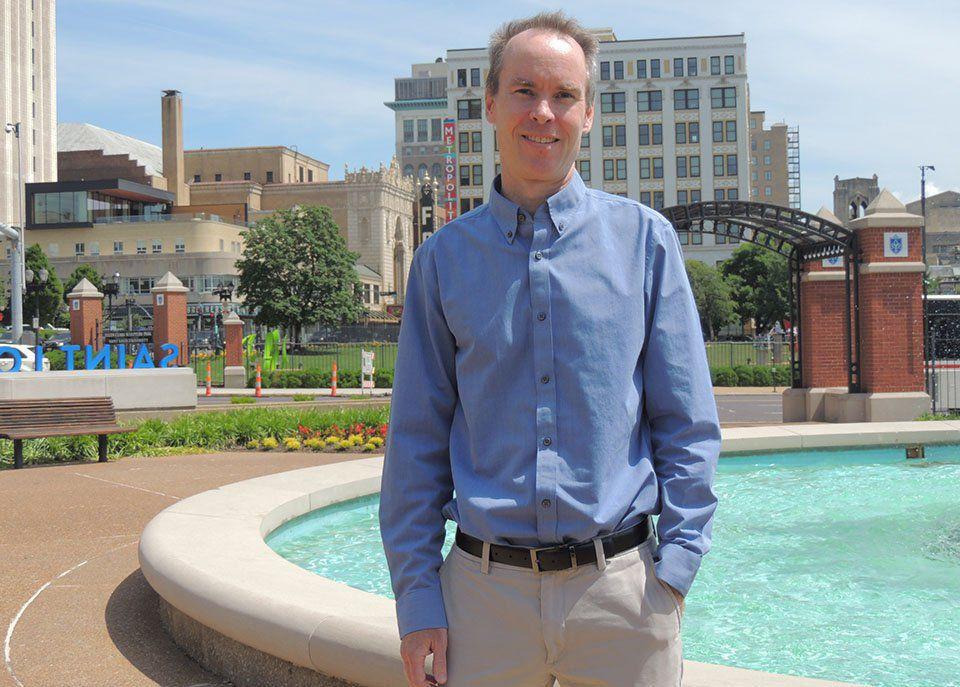 St. Louis University professor Kevin Scannell