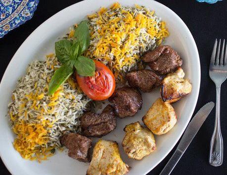 Cafe Natasha's Persian rice
