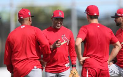 6d9d1dcdb0c Oquendo can see five Gold Gloves in Cards  immediate future ...