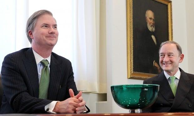 New Washington University provost Holden Thorp