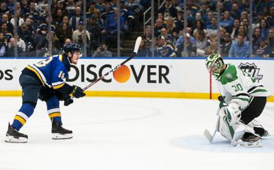Blues look for redemption in Game 5