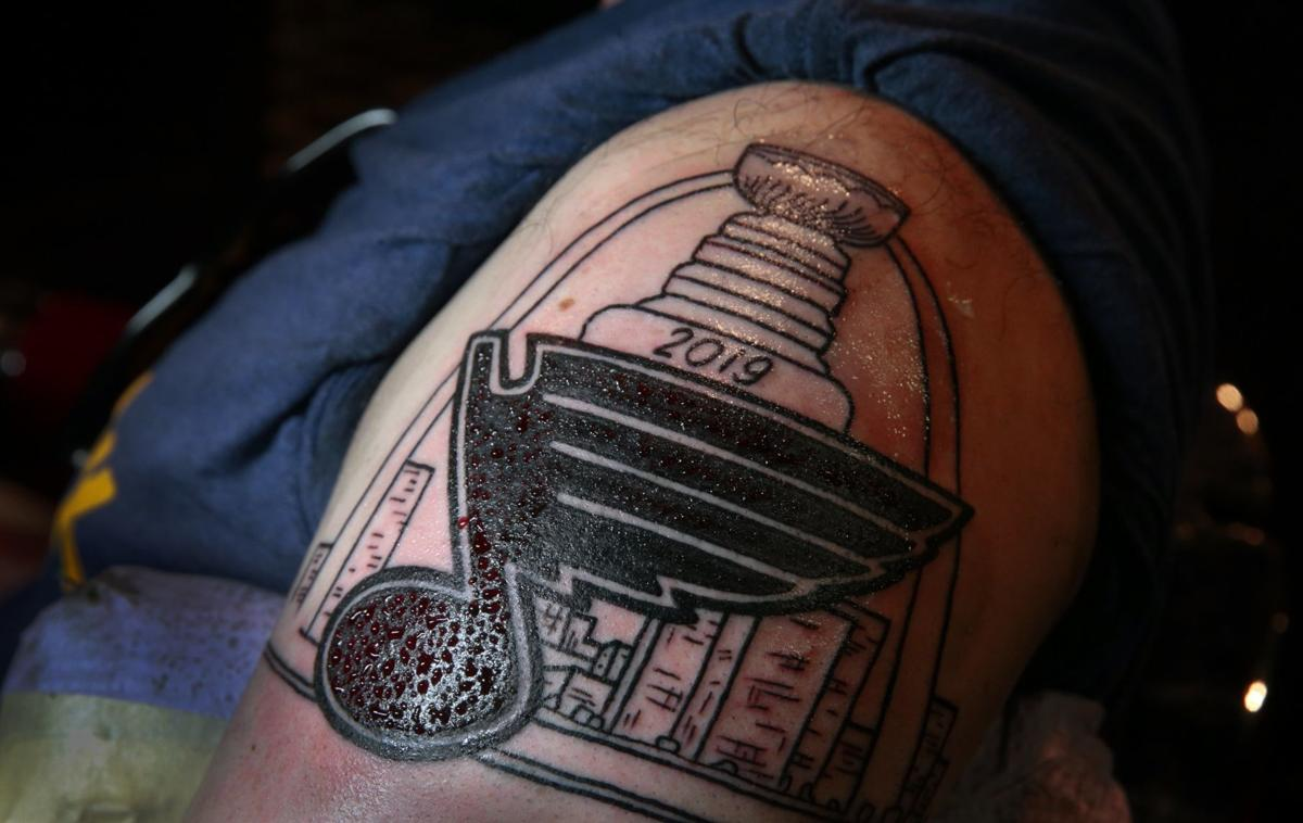 Tattooing worthy of the trophy